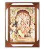 E-Studio Multicolor Metal Lakshmi Narasimha Wall Frame