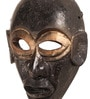 E-Studio Multicolor Wooden Mask African Wall Dcor