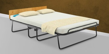Easy Premium Queen Size Folding Roll-Away Bed With Mattress By Camabeds
