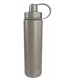 Eco Vessel Silver Express Stainless Steel 700 ML Insulated Bottle With Screw Cap
