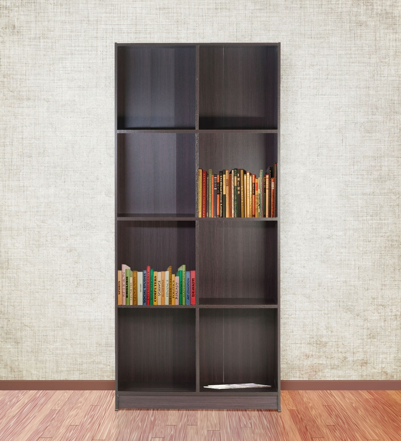 Book Shelf cum Display Unit in Wenge Finish by Marco