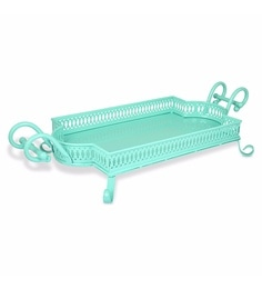 Elan Baroque Rectangle Serving Tray Cum Platter
