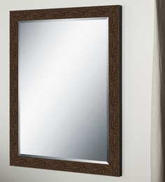 Elegant Arts & Frames P 327-P Brown Wall Dressing Mirror at pepperfry