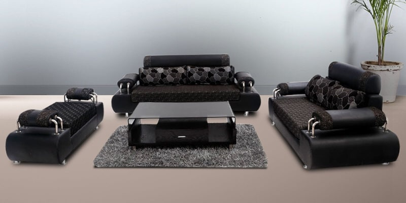 Elegent Sofa Set (3 + 2) Seater With Divanby Looking Good Furniture