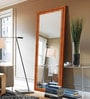 Brown Wooden Decorative Full Length Dressing Mirror by Elegant Arts & Frames