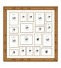 Elegant Arts and Frames Gold Synthetic 34 x 34 Inch Collage Photo Frame