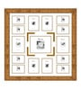 Edmundo Collage Photo Frame in Gold by CasaCraft