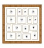 Gold Synthetic 34 x 34 Inch Collage Photo Frame by Elegant Arts & Frames