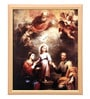 Elegant Arts and Frames Canvas 14 x 17 Inch Holy Trinity Framed Art Print