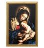 Elegant Arts and Frames Canvas 27.5 x 37.5 Inch Madonna Framed Digital Art Print