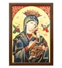 Elegant Arts and Frames Canvas 22.5 x 30.5 Inch Our Lady Framed Art Print