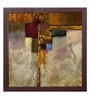 Elegant Arts and Frames Paper 39.5 x 39.5 Inch Refuge II Framed Art Print