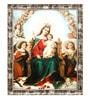 Elegant Arts and Frames Canvas 18.5 x 22.5 Inch The Hail Mary Framed Digital Art Print