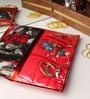 Elegant Plastic Red Saree Bag - Set of 3
