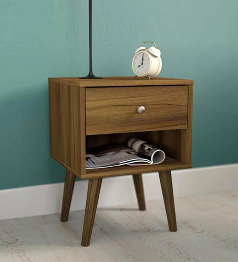 End Table in Columbia Walnut Finish by Evergreen