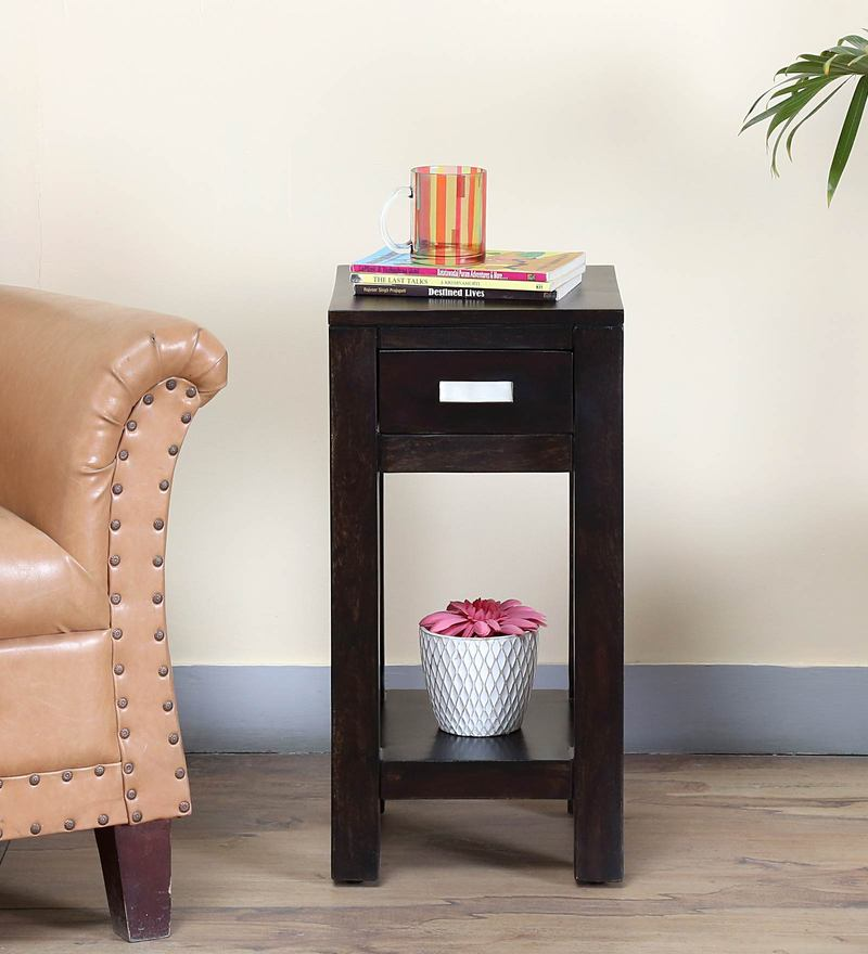 Oriel End Table in Warm Chestnut Finish by Woodsworth