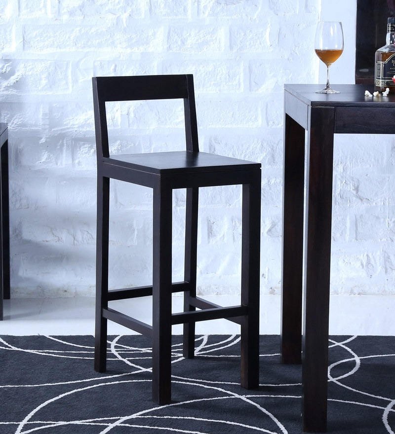 Enkel Bar Chair in Warm Chestnut Finish by Woodsworth