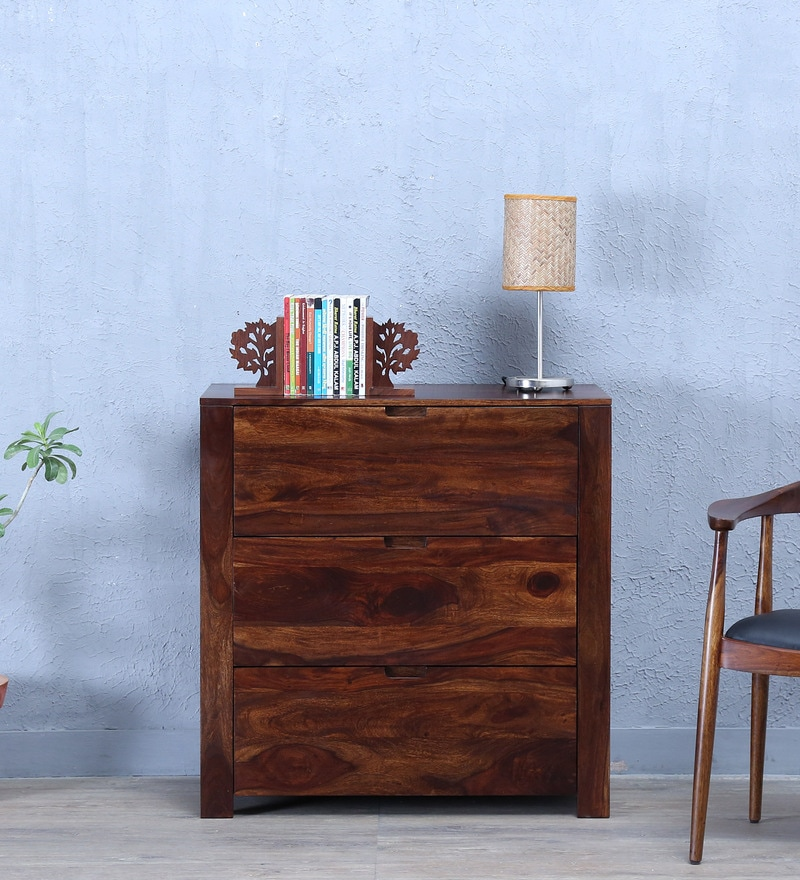 Enkel Chest Of Drawer in Provincial Teak Finish by Woodsworth