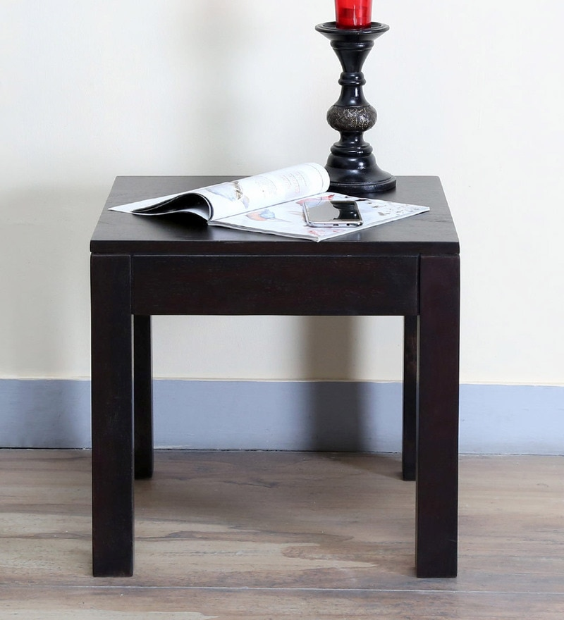 Enkel End Table in Warm Chestnut Finish by Woodsworth