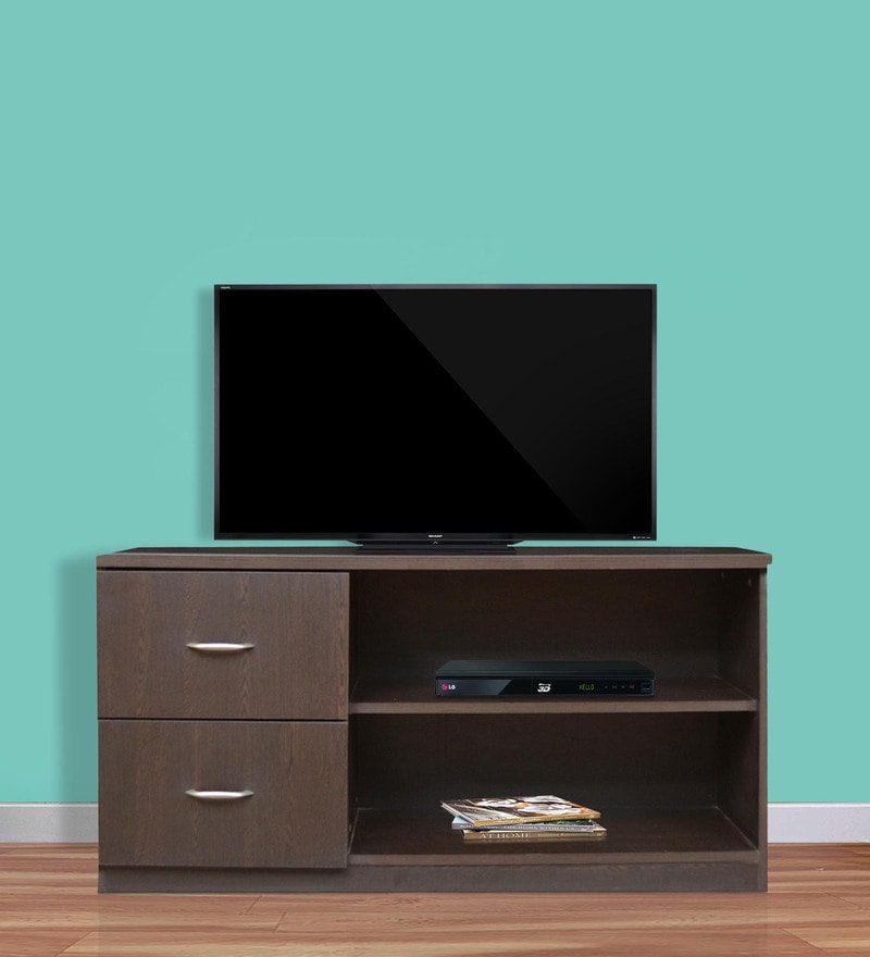 Entertainment Unit in Wenge Finish by Crystal Furnitech