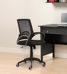 Atria Medium Back Ergonomic Chair In Black Colour ...