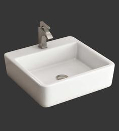 Eros Table Top White Ceramic Wash Basin (Model: Milim-TT)