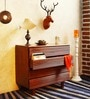 Burlington Chest of Four Drawers in Provincial Teak Finish by Woodsworth