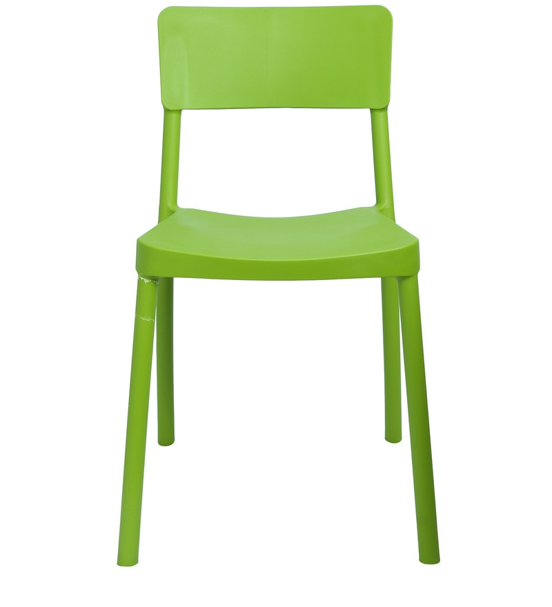 Buy Eskimo Cafeteria Chair Set Of Two In Green Colour By Cello Online    Plastic Chairs   Chairs   Pepperfry