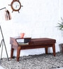 Aberdeen Bench in Honey Oak Finish by Woodsworth