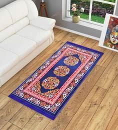 Ethnic Motif Jute 5 x 3 feet Machine Made Carpet