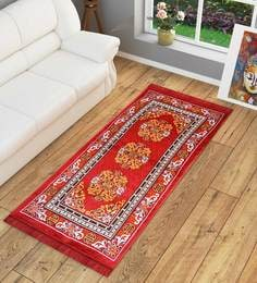 Ethnic Motif Jute 5 x 3 feet Machine Made Carpet