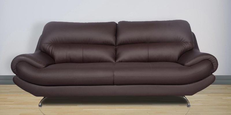 Synthetic leather sofa best faux leather sofa the plough for Couch 400 euro