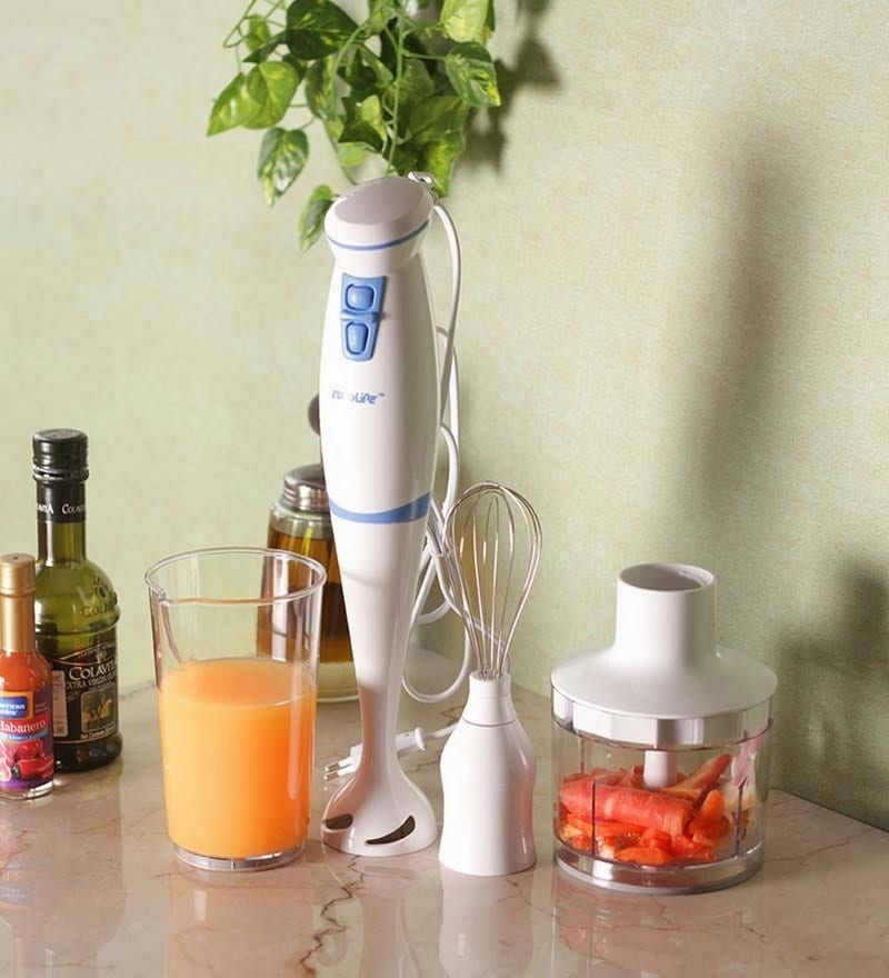 Euroline Classic Hand Blender with Attachment