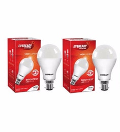 Eveready LED Bulb Combo 14W Pack Of 2 With One Piece 9W - 6500K