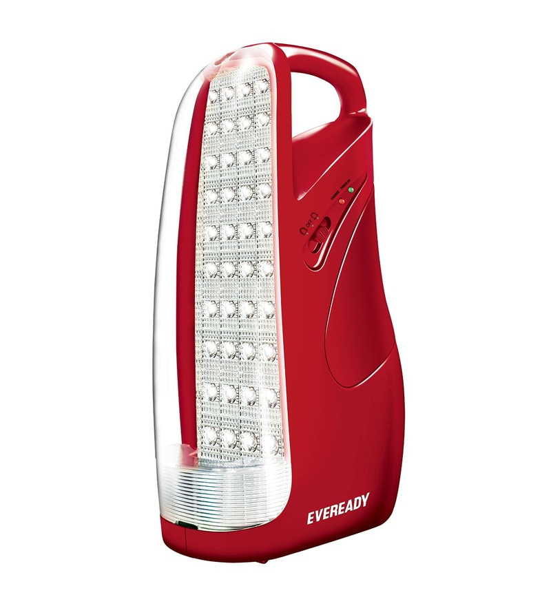Eveready Rechargeable Emergency Light HL51 - Red