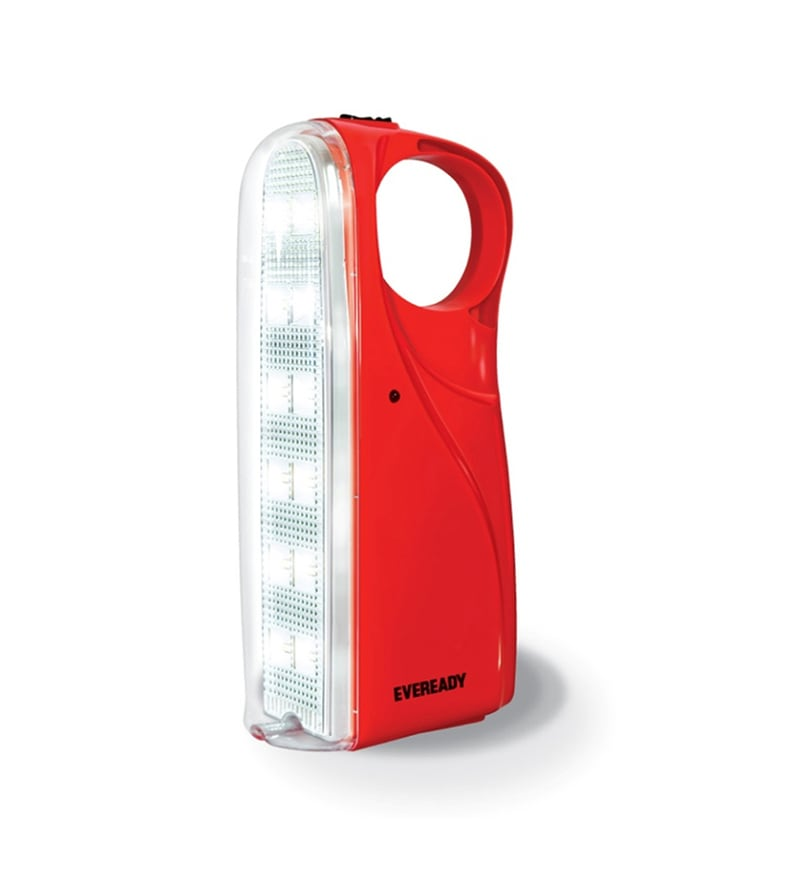 Eveready Rechargeable Emergency Light HL56 - Red