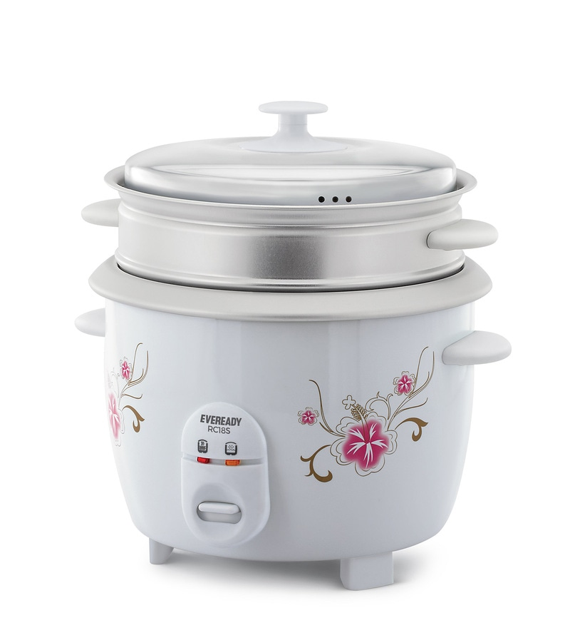 Eveready RC18S Rice Cooker with Steamer