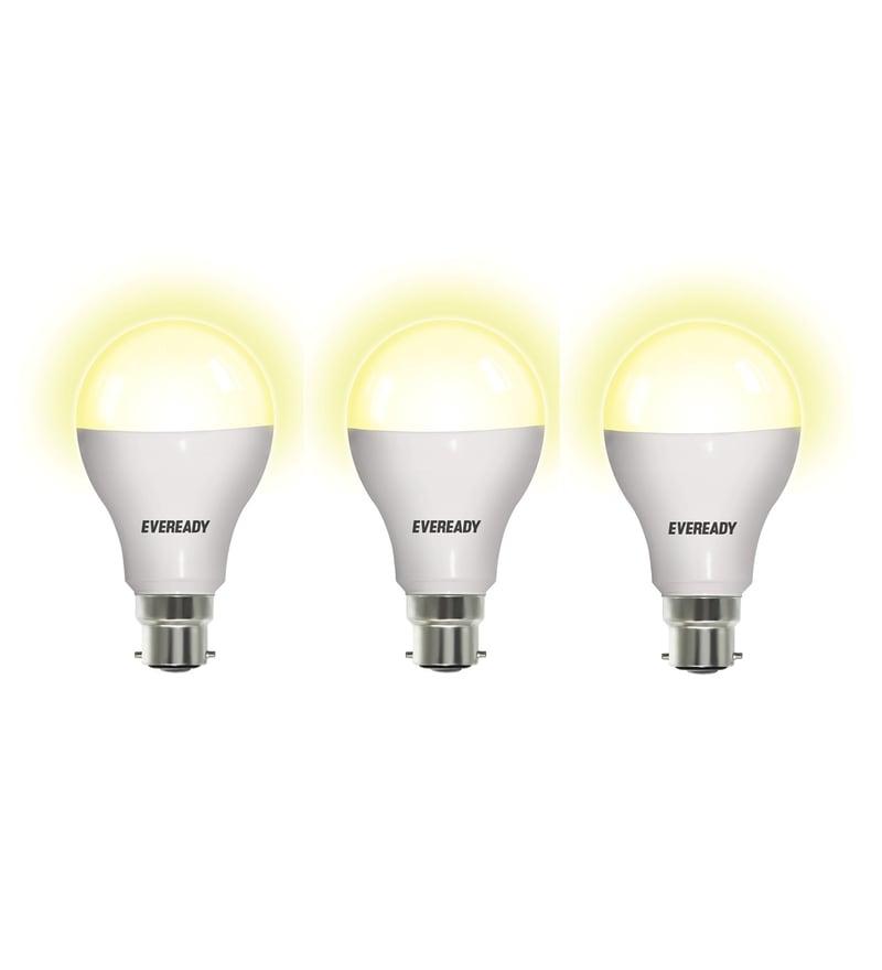 Eveready Warm White 12-Watt Led Bulbs - Set of 3