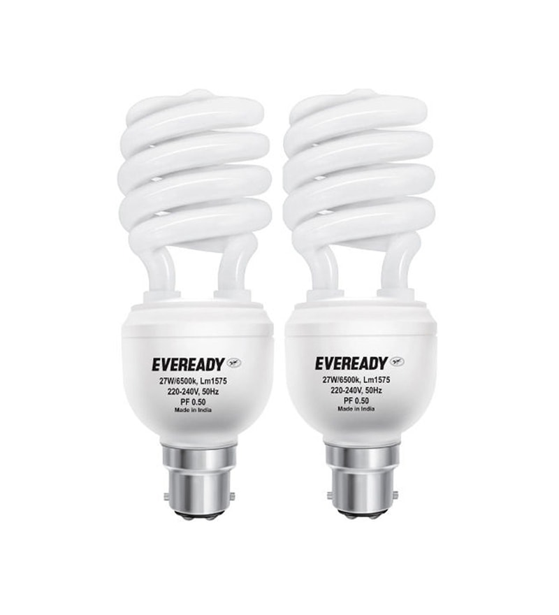 Eveready CFL Combo 27W Pack of 2