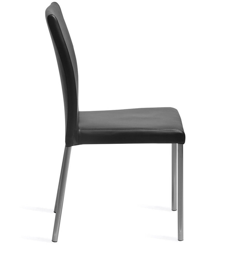 Buy Evita Dining Chair In Black Colour By Nilkamal Online