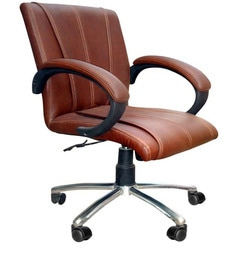 Ergonomic Mini Workstation Chair by Adiko Systems at pepperfry