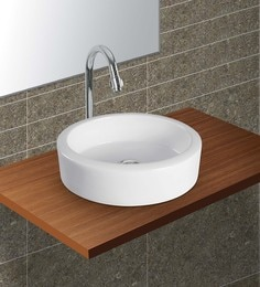 Exor White Ceramic Wash Basin (Model: 3063)