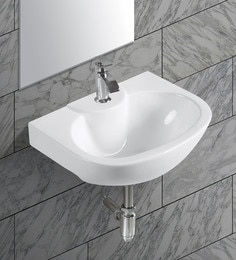 Exor White Ceramic Wash Basin (Model: 3070)