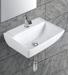 Exor White Ceramic Wash Basin (Model: 3074)