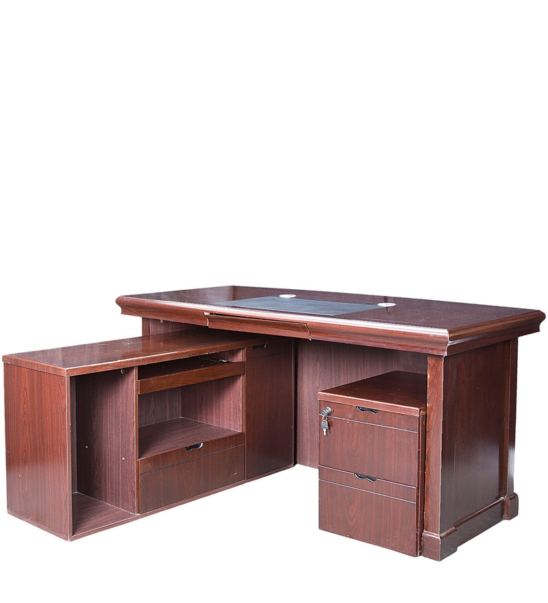 Buy Executive Study Amp Laptop Table With Runner Amp Drawer