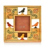 Yellow Wooden 7 x 6.9 Inch Parrot Photo Frame by ExclusiveLane