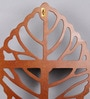 Brown Wooden Carved Shelf by Home Sparkle