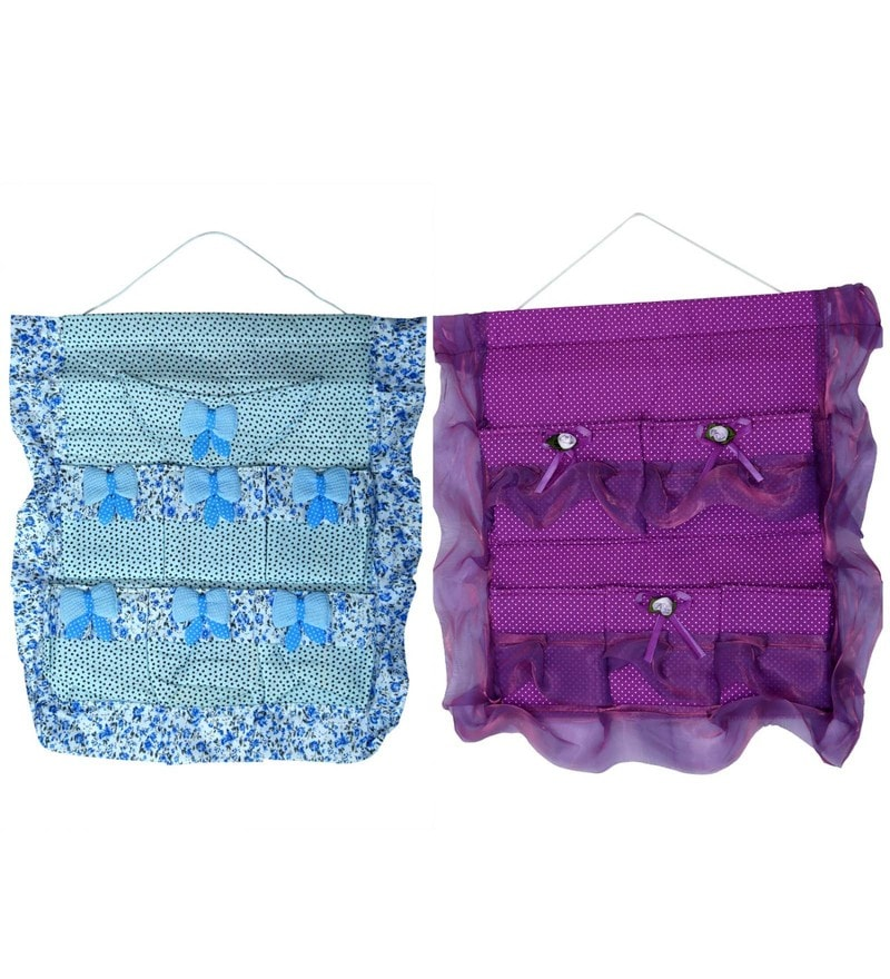 Fabric Wall Hanging Organisers by Home Creations - Set of 2