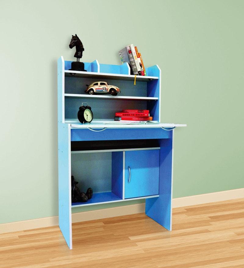 Fayne Study Desk in Blue Colour by Nuhoom