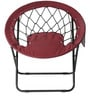 Fancy Garden Chair in Wine Colour by @home
